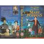 Mary Poppins Vhs Walt Disney Clasico Infantil En Castellano