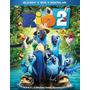 Blu-ray+dvd -- Rio 2