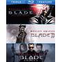 Blu-ray Blade Trilogy / Incluye 3 Films
