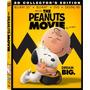 Blu Ray 3d The Peanuts Movie Dvd Original