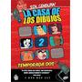 Pack 2dvd La Casa De Los Dibujos Temporada 2 Nuevo Original