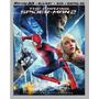 Blu-ray Amazing Spiderman 2 3d + 2d + Dvd/ Hombre Araña 2 4k
