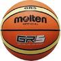 Pelota Basquet Basket Gr5 Molten Goma Vulcanizada Green Spor