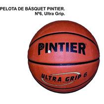 Pelota Básquet Pintier N°6 - Ultra Grip - Md - La Plata