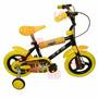 Bicicleta Cars Rodado 12 Cubierta Eva Lelab 15052