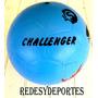 Pelota Futbol Pvc Sin Cámara Resistente Económica Challenger