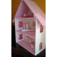 Casitas De Muñecas Barbie En Madera. Diferentes Tamaños!!