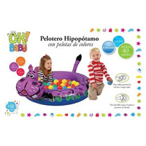 Pelotero Hipopotamo Inflable Con Pelotitas Ok! Baby