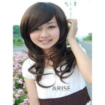 Divina Peluca Traída De Japón Imita 100% Al Cabello Humano