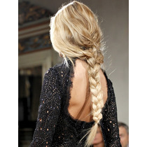 Aplique (peluca) Postizo Súper Trenza 85cm Kanekalon Premium