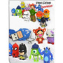 Pendrives 8gb Personaje Animado Super Heroes Disney Pack 10u
