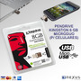 Pen Drive Kingston Microduo 8 Gb (p/ Celulares Y Tablets)