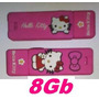 Pendrive Usb Hello Kitty Kity Original Rosa Pink Fuxia 8 Gb