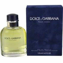 Dolce & Gabbana Pour Homme 125 Ml Edt Perfume Caja Celofan