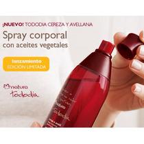 Natura Spray Perfume Corporal Cereza Y Avellana, Nuevo!