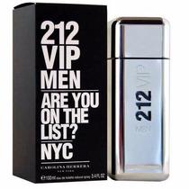 Perfume 212 Vip (plata) X 100 Ml *importado* Envió Gratis
