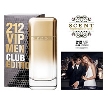 212 Vip Men Club Edition By Carolina Herrera - 100ml - Spain