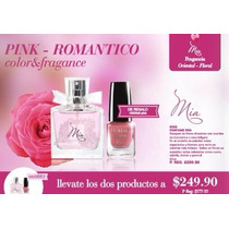 Perfume Mia + Regalo (esmalte Pink) Arbell
