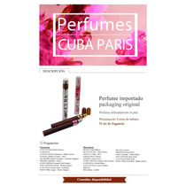 Perfume Cuba París. 35 Ml (packaging Habano)