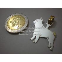 Bull Dog Francés - Dije Plata 925 - Oro 18k