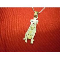 Labrador - Dije En Plata 925 - Oro 18k