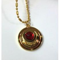 Colgante Collar Sailor Moon Con Rojo Metalico