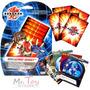 Bakugan Cartas Estrategia Bakucard Boost Originales Pack X 5