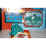 Bakugan New Vestroia Traps Fortress Con Carta Metal !