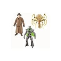 Ben 10 Movie Pack 3 Figuras (queen, Validis Y Nanomec) Nuevo