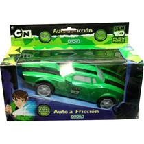 Auto A Friccion De Ben 10 C/ Luz Y Sonido ! De Ditoys