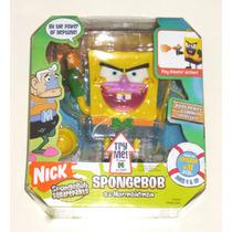 Bob Esponja - Muñeco Original Con Sonido - Nickelodeon.