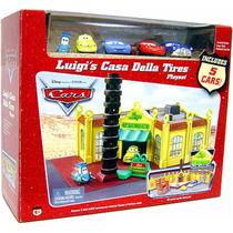 Cars Disney Pixar Luigis Casa Della Tires Playset Bunny Toys