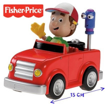 Auto De Manny A La Obra -original Fisher Price- Unico!!!