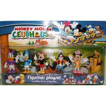 Set De 6 Muñecos De Mickey Mouse Club House