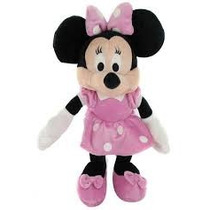 Muñeco Peluche Mickey Mouse Club Minnie Wabro 35 Cm Mediano