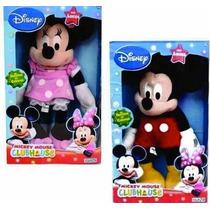 Muñeco Peluche Mickey Minnie Luz Disney T & P