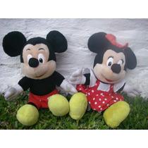 Peluches De Mickey Y Minnie