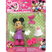 Muñeco Disney Minnie Con Accesorios Original Fisher Price