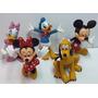 Figuras Mickey Minnie Donald Y Sus Amigos Set De 5 Figuras