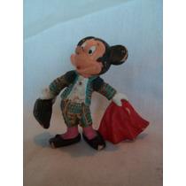 Antiguo Muñeco De Mickey Torero, Disney. Pintado A Mano.
