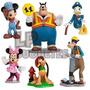 Set De 6 Personajes Mickey Y Sus Amigos. Decoracion Tortas