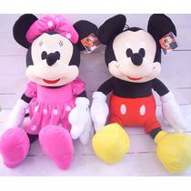 Minnie & Mickey 3 Hermosa Parejita De Peluches :d