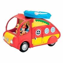 Auto Caravana Mickey Disney Original Accesorios Fisher Price