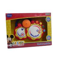 Tambor Melódico Mickey Mouse Con Luz Y Sonido Disney Ditoys