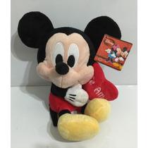 Disney Peluche Mickey C/corazon 25 Cm Zap 26310