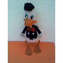 Muñeco Pato Donald Argentino Grande Años 60s A 70s