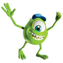Monsters University - Scare Students - Mike Wazowski Figura