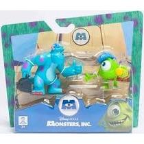 Monsters Inc Set X2 Fíguras Licencia Original Disney Pixar