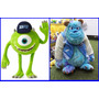Peluche Sullivan + Mike Wazoski D Monster University 33/30cm