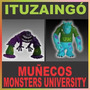 Muñecos Monster University